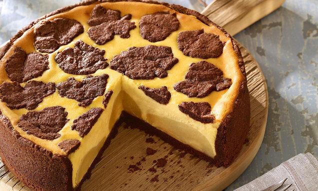 Čupavi kolač s kruškama i sirom