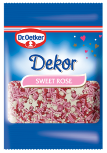Mini Dekor Sweet Rose